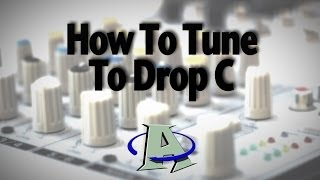 how to tune your guitar to drop c