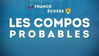 France - Ecosse : les compositions probables