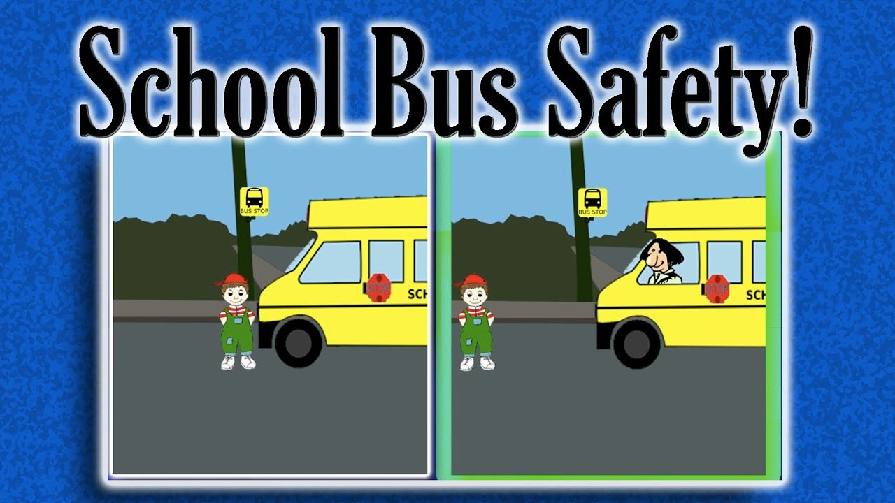 Basic rules for transporting children in buses