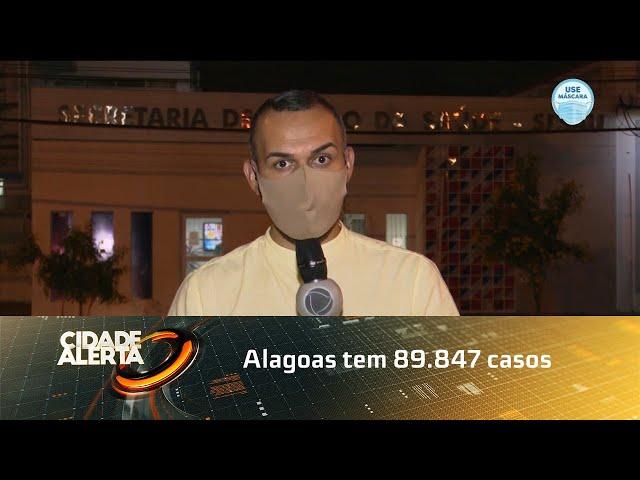 Coronavírus: Alagoas tem 89.847 casos e registra 2.196 óbitos