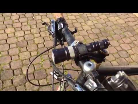 Twofish Taschenlampen Fahrrad Halterung