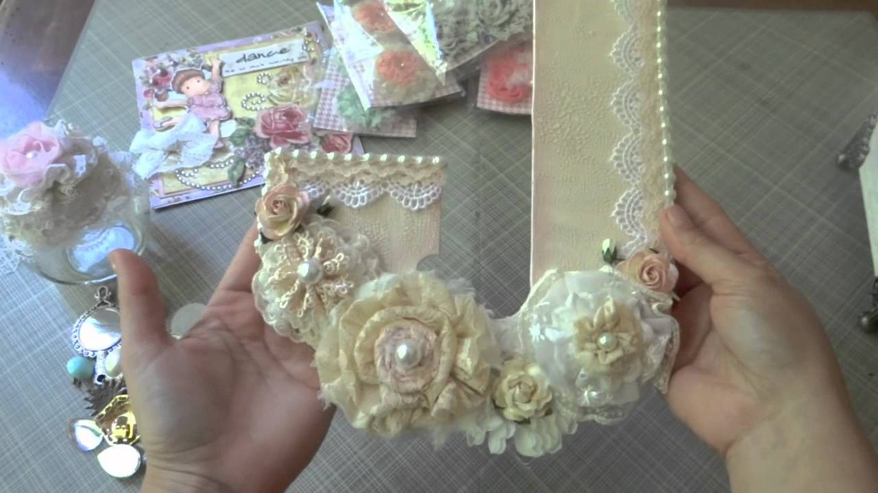 Beautiful handmade gifts from jaizella lavishlaces youtube for Handmade things videos