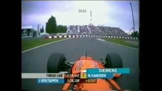 F1 2000 Onboard Jos Verstappen FP3 Montreal