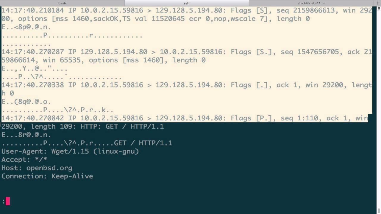 Tcpdump - Protocol Review 6 (HTTP)