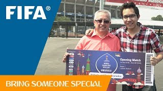 FIFA Bring Someone Special – Roberto's Story