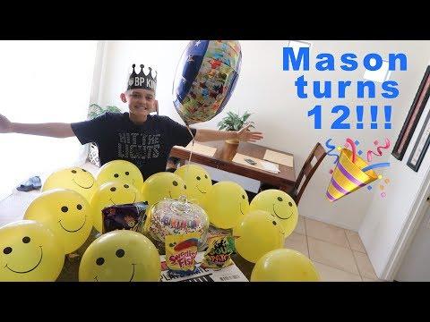 Mason's 12th Birthday