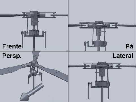 Rotor Principal Helicóptero: Coletivo / Cíclico