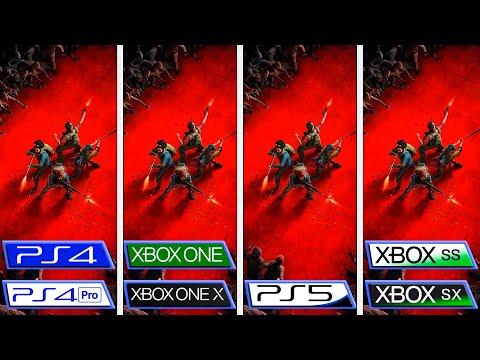 Сравнение частоты кадров и разрешения в бета-версии Back 4 Blood на консолях Xbox и Playstation