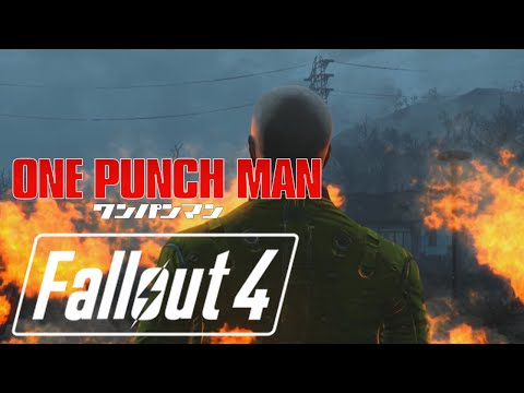 One punch man OP recreated on Fallout