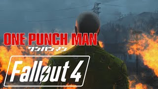 Fallout 4: One Punch Man The Hero!