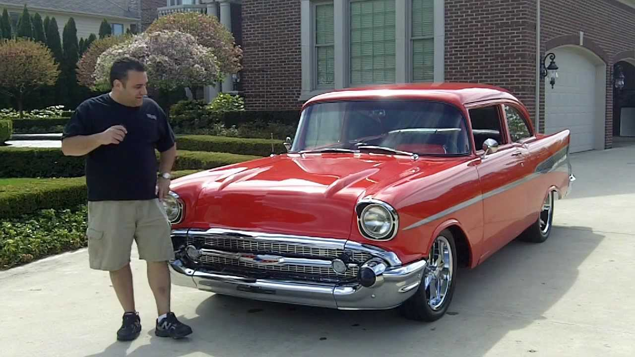 1957 Chevy 210 Post Classic Muscle Car for Sale in MI Vangaurd ...