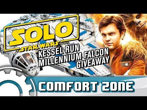 LEGO Star Wars: Kessel Run Millennium Falcon Giveaway [Solo: A Star ...