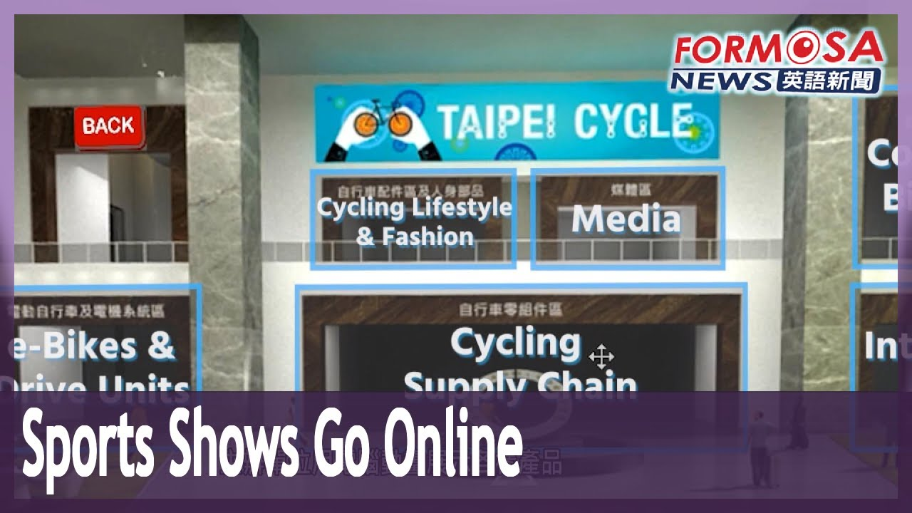 Download Taipei Cycle Show and TaiSPO Show for sports equipment go online in age of COVID