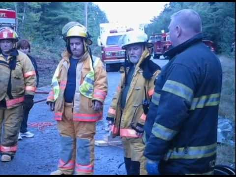 Fire Department Exercise  - Jaws Of Life