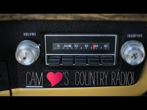 Cam - Thank You, Country Radio!