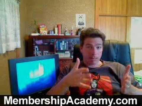 Create A Membership Website - 3 Website Ideas