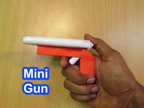 How to Make a Paper Mini Paper Gun - Easy Tutorials
