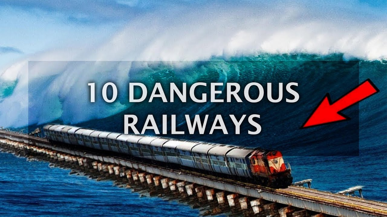10 Extremely Dangerous Railways you Never Wanna Ride | Top 10 List