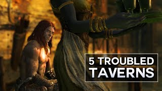 Skyrim - 5 Troubled Taverns (ft. FudgeMuppet)