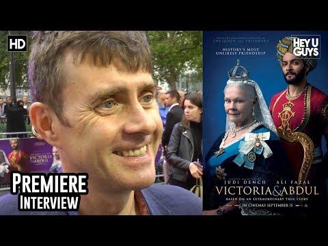 Paul Higgins - Victoria and Abdul Premiere Interview