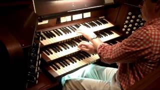 His Eye is On the Sparrow - Pipe Organ Arrangement - Steven Turner
