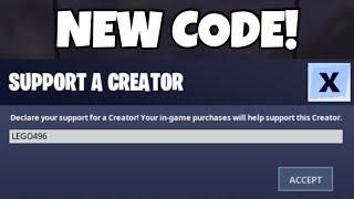 J'ai mis à jour mon Code Créateur Fortnite!! LEGO496 (EN)