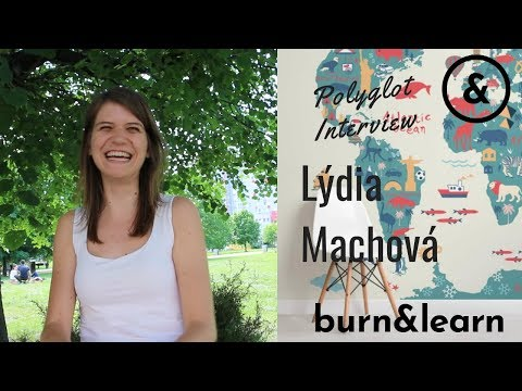 How to learn German - Interview with Lýdia Machová
