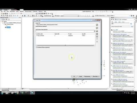 Create TIN Using ArcGIS