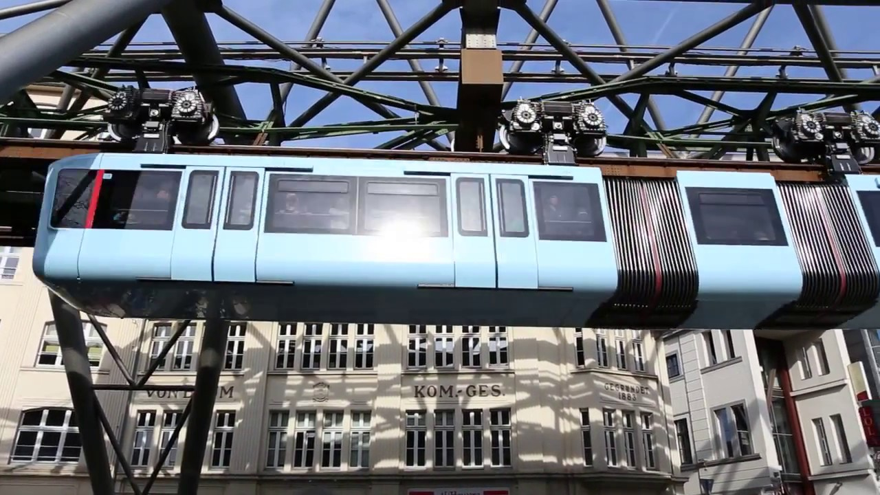 Suspension Railway In Wuppertal Story Of A Landmark YouTube