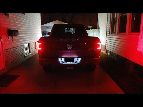 Oled Neon 2009 2017 Dodge Ram 1500 2500 3500 Black Led Tail Lights