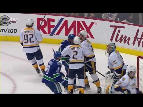 Nashville Predators vs Vancouver Canucks | January 17, 2017 | Game Highlights | NHL 2016/17