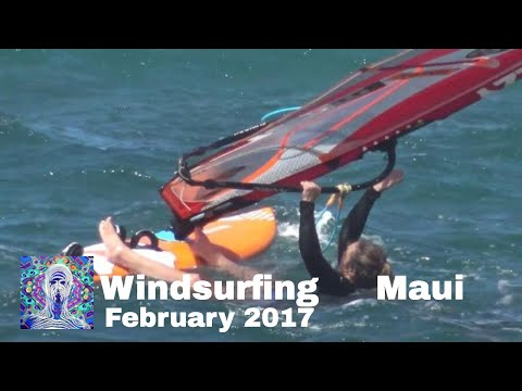 Windsurfing: North Shore Maui - Feb. 2017