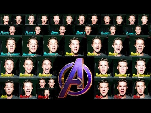 I Sing The Entire Orchestra In The Avengers Theme (Voice Orchestra)