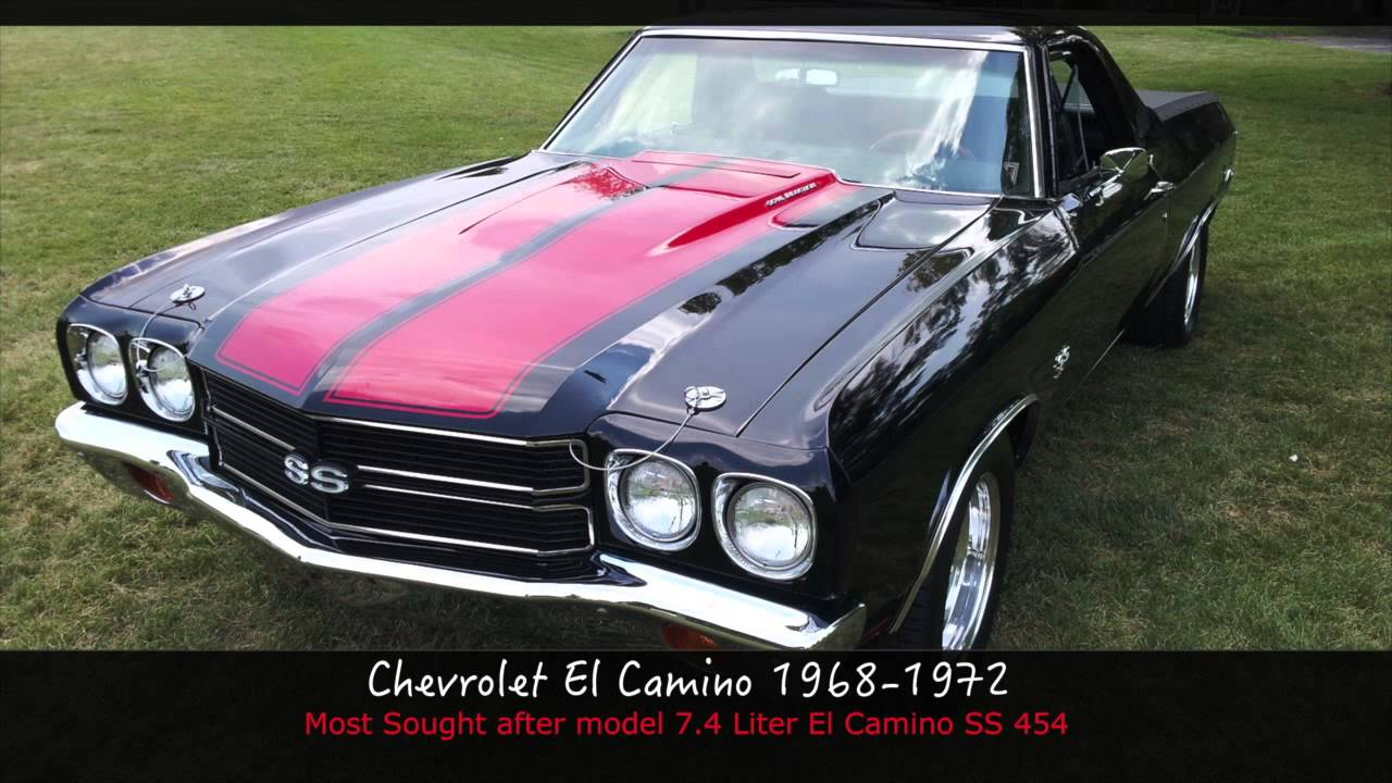 Top 10 Most Iconic Chevy Muscle Cars & Pickups - YouTube