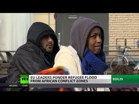'We're not animals': Immigrants stuck in EU homeless & jobless