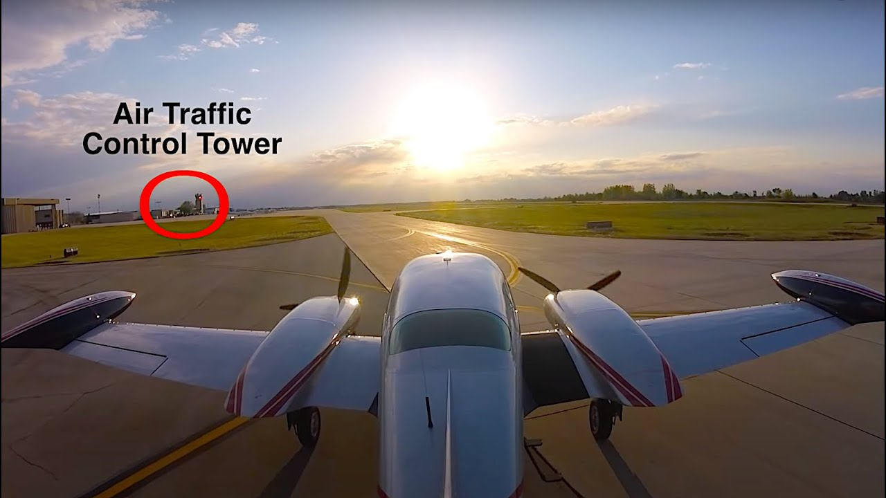 Air Traffic Control Tower Light Gun Signals