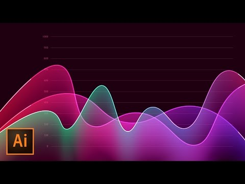 How to Create Metrics Line Graph Analytics Vector Artwork in