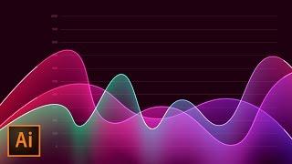 How to Create Metrics Line Graph Analytics Vector Artwork in Illustrator