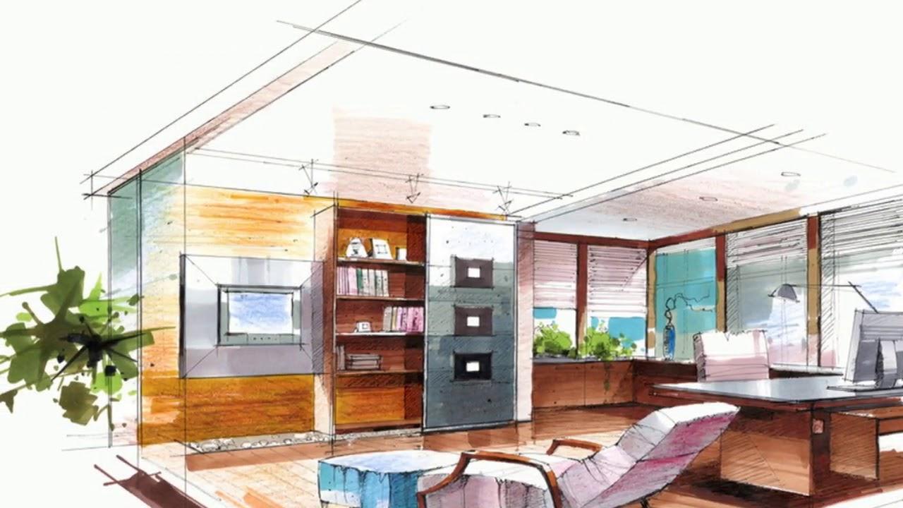 Interior Design Sketch: Interior Design Sketches Living Room Ideas