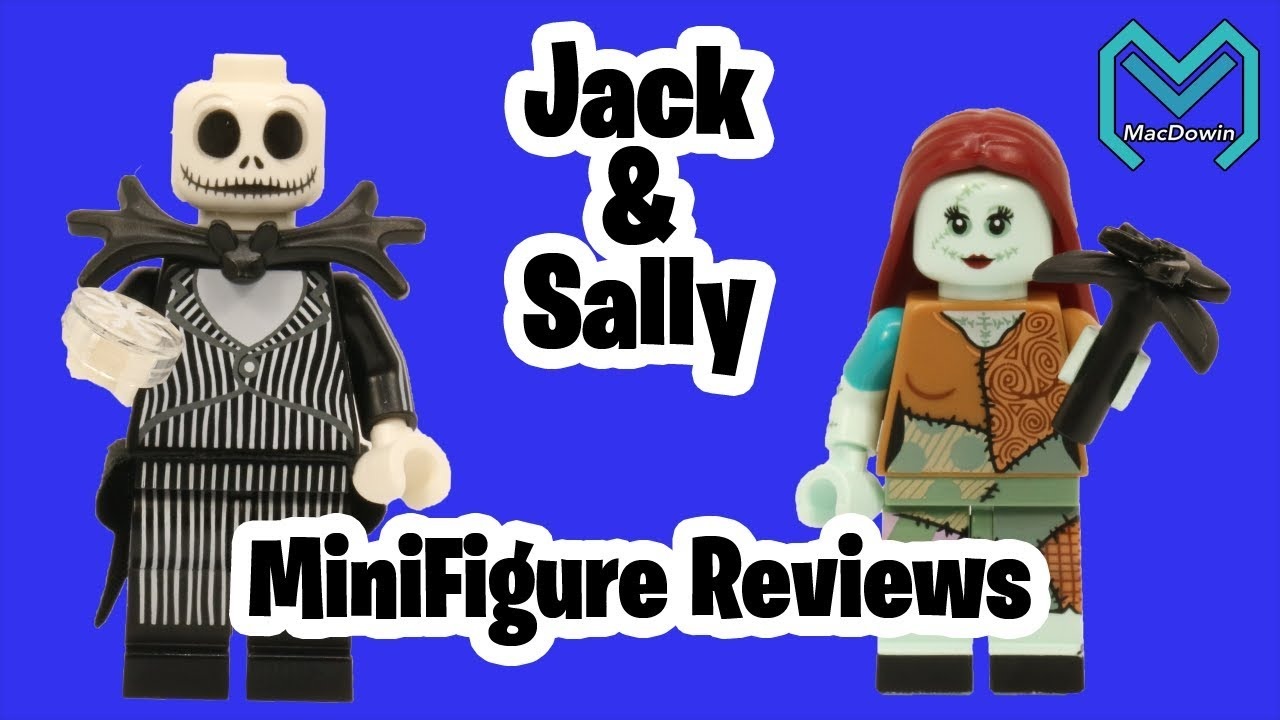 LEGO JACK SKELLINGTON /& SALLY DISNEY SERIES 2 minifigs 71024 halloween christmas