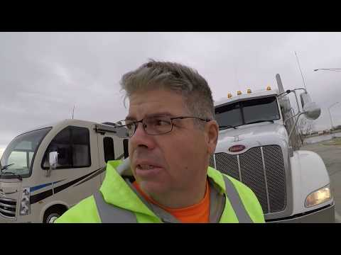 #211 Wisconsin these Roads are Killing Me The Life of an Owner Operator Flatbed Truck Driver