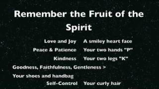 How to remember the Fruit of the Spirit
