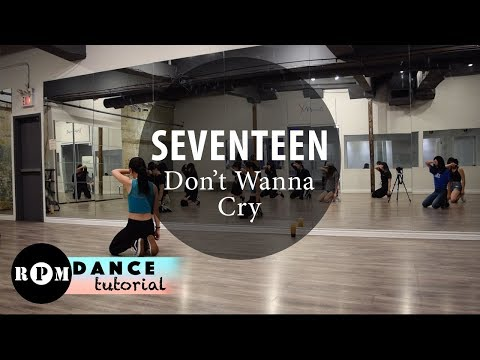 "SEVENTEEN ""Don't Wanna Cry"" Dance Tutorial (1st & 2nd Chorus)"