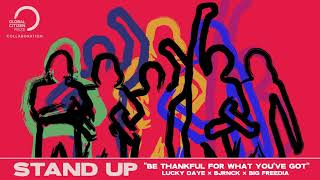 Lucky Daye, Big Freedia & BJRNCK - Be Thankful For What You've Got [Official Visualizer]
