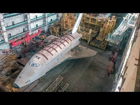 Abandoned in the Desert - The Lost Soviet Space Shuttle Buran