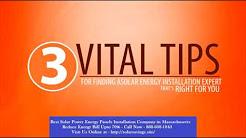 Best Solar Power (Energy Panels) Installation Company in Adams Massachusetts MA