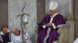 Gambar cover Pope on Ash Wednesday: Lent is not a time for useless sermons