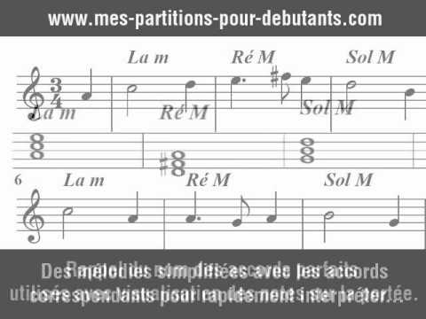 Piano tablature piano facile gratuite : Piano : tablature piano facile gratuite Tablature Piano Facile ...