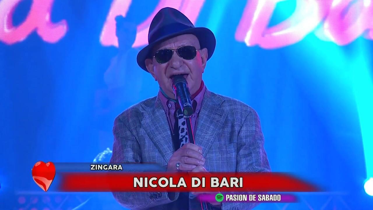 Zingara Nicola Di Bari en Pasion - YouTube
