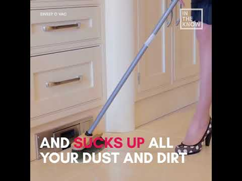 Built In Wall Vacuum Kills The Dustpan